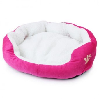 Soft Pet Beds Affinity Dogs Cat Supplies (Pink) - intl Price Philippines