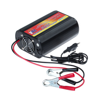 SON20A 24V And 12V Switchable 20A LED Digital Car Battery Charger #0067 (Black)