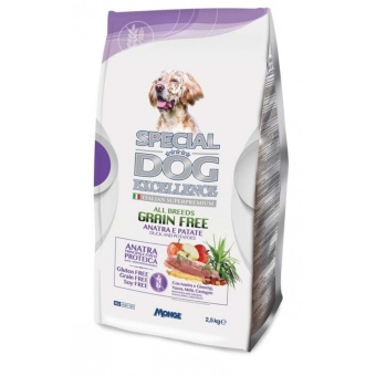 Special Dog Excellence Grain Free Dry Dog Food Duck and Potato 2.5 kg