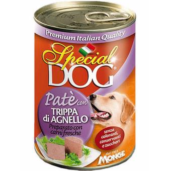 Special Dog Pate Lamb Tripe Wet Dog Food 400g Set of 3 Cans
