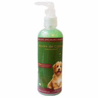 Specialized Dog Shampoo Madre de Cacao 250 mL for dogs and cats, an effective anti galis shampoo