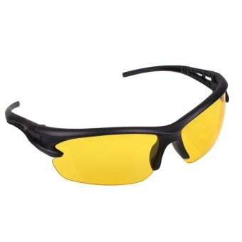 Sport Cycling Bicycle Riding Sun Glasses Night Vision UV400 Driving Sunglasses - intl