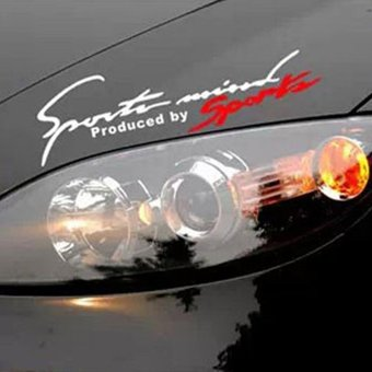 Sports Decor Car Auto Reflective TRD Car Decal Stickers - intl Price Philippines