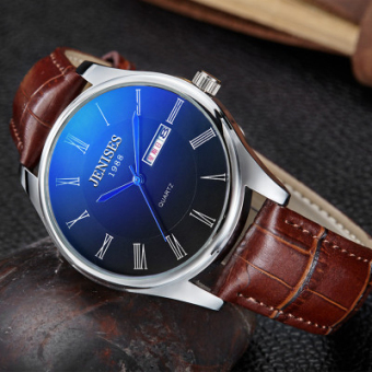 Sports men's ultra-thin student waterproof men's watch