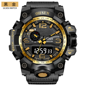 Sports outdoor waterproof Junior High School boy's army watch