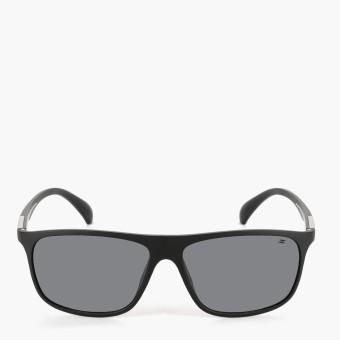 Spyder Mens Hudson 3S010 Sunglasses (Matte Black/Silver Mirror)