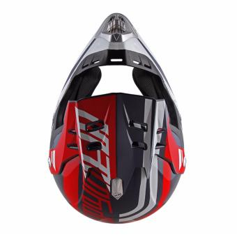 Spyder Motocross Helmet Dirt G 765 (Navy Blue/Red/White) -Large - 4