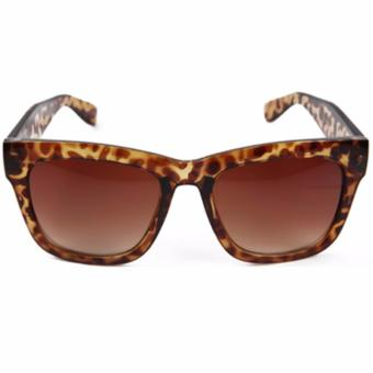 Square Sunglasses Leopard Print Shades for Women