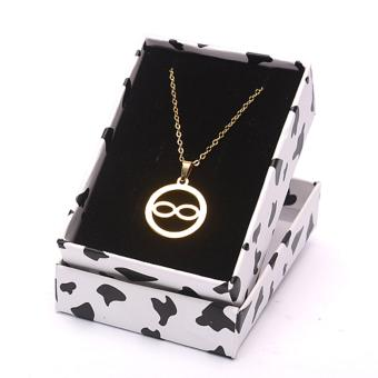 Stainless Steel Infinity Necklace- Gold Price Philippines