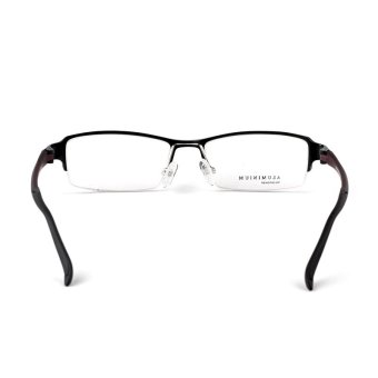 Stallane Optical Myopia Frame Eyeglasses For Women LeisureAluminium Glasses With Tr90 Legs (