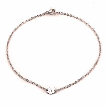 Steel Tiny Anklet S (silver) Price Philippines