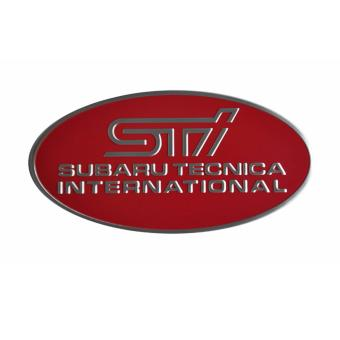 Buy Latest Sti Subaru Car Alloy Emblem Oval Red Price In