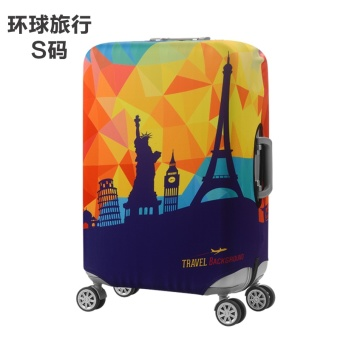 Stretchable Elastic Travel Protective Cover Luggage Suitcase(S) -intl