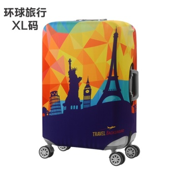Stretchable Elastic Travel Protective Cover Luggage Suitcase(XL) -intl