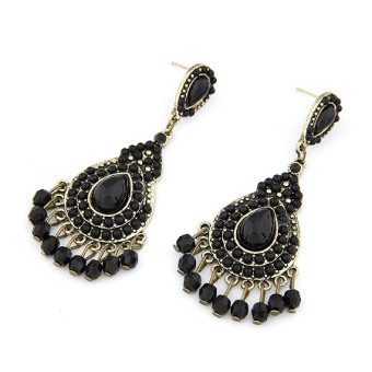 Style European and American Water Drop elegant earrings