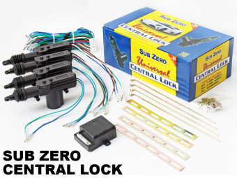 Sub Zero Universal Central Lock Central Locking Car Door Lock with2 door control