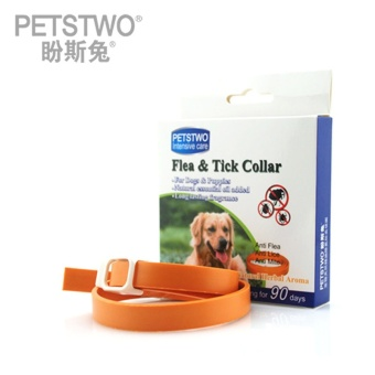 Summer Pet Dog Collar Anti Mosquito Dogs Protection Dog Cat AntiFlea Tick Mite Insect Repellent Dogs Teddy Puppy Pets Collars M -intl
