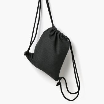 Summit Pascal Drawstring Bag (Black) - 2