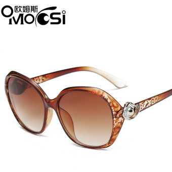 SUN cool New style women's round Shishang sunglasses