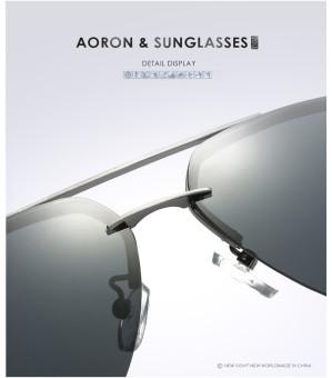 Super Aluminum Magnesium Polarized Men's Square Male Sun glasses Driving Eyewear Outdoor Sports Goggle Sunglasses aviator 3025 polaryte hd - intl - 3