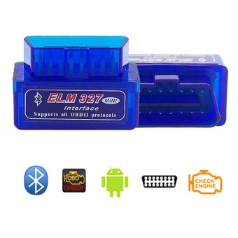 Super Mini ELM327 Bluetooth V2.1 OBD2 Wireless Car Diagnostic Scanner Universal OBD II Auto Scan Tool Work On Android Models:ELM327 V2.1 Specification:A-L02BJ-L - intl
