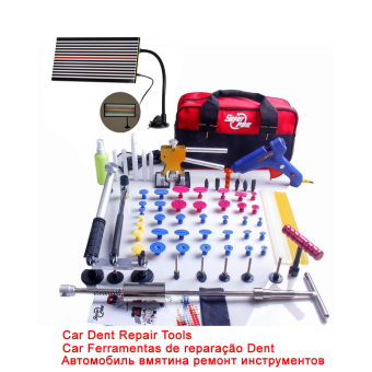 Super PDR Dent Lifter Kit Glue Puller Paintless Dent Repair ToolBag Hail Removal 68pcs - Intl