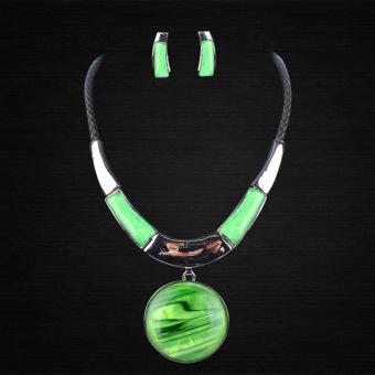 Supercart Women Jewelry Set Green (Intl)