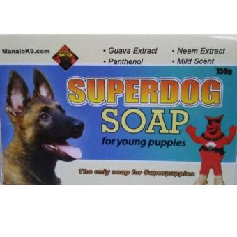 Superdog soap for young puppies (Turquoise)