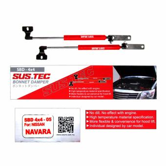 Sus.tec Bonnet Damper For Navara 2005-2014 Year Model (2 Pcs/Set)