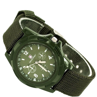 Swiss Army Luminous Exercise Watches Fashion Outdoor Sports Watch(Green) Price Philippines