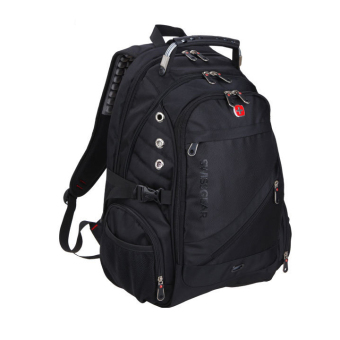 "Swiss Oxford Cloth 15.6"" Business Laptop Backpack (Black) - Intl Price Philippines"