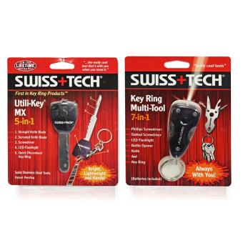 Swiss Tech Multi-Purpose Utility Tools 5 in 1 Key MX and Swiss Tech7 in 1 Key Ring Set of 2 Price Philippines
