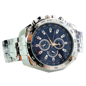 SYNOKE Men's Blue Steel-belt Strap Watch C-XY-3999 - 2