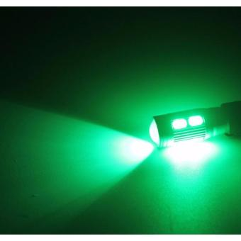 T10 High Power 5630 SMD LED Park light Plate light roomlight(GREEN)