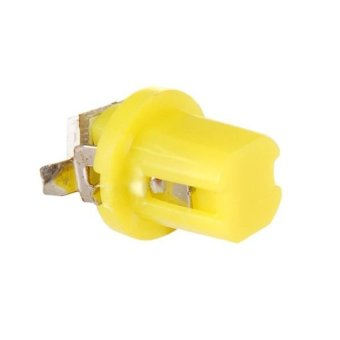 T5 B8.5D 5050 LED Yellow Light Gauge Lamp (Yellow)