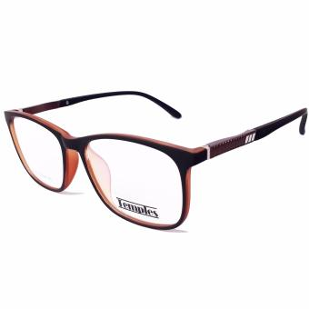 Temples Basic LIFESTYLE Prescription Frame Model E155 BlackCoffee Price Philippines