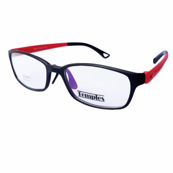 Temples Rx Basic unisex Frames 8899 C8 Black/Red Price Philippines