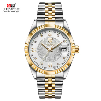 TEVISE Top Brand Men Fashion Luxury Waterproof Wristwatch Automatic Mechanical Watch Business Men's Watches - intl