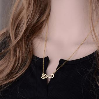 Than's Infinity Love Pendant Necklace