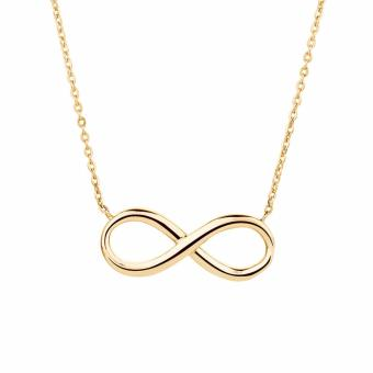 Than's Charming Gold Infinity Necklace - 3