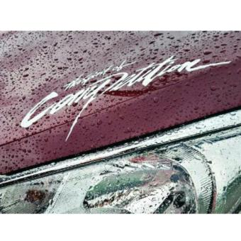 The Spirit of Competition Car Sticker White (Vinyl/Waterproof)