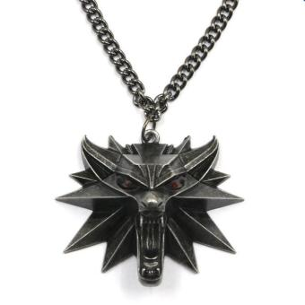 The Witcher Pendant Necklace 2016 Medallion Wizard Wolf Hunt 3 Pendant