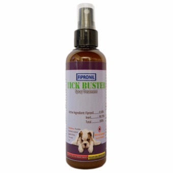 Tick Buster (anti-tick, fleas, and lice) Fipronil Spray Treatment 100 mL for dogs and cats, anti garapata, pulgas, kuto
