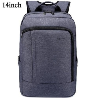 Tigernu Anti-theft Waterproof Nylon College School Travel Business Backpack for 12.1-14 Inches Laptop3174(navy blue) - intl