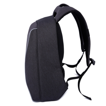 Tigernu Brand 14 Inch Laptop Bags Fashion Anti-Theft Men 's Business Backpack T-B3188(Black Grey) - 2
