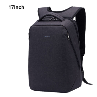 Tigernu Multifunctional Fashion Women Men17 Inches Laptop Backpack T-B3164(Black grey)