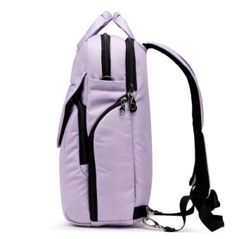 Tigernu School Youth Teenager Waterproof Anti-theft Bag ShoulderColorful Laptop Backpack T-B3153(Black) - 4