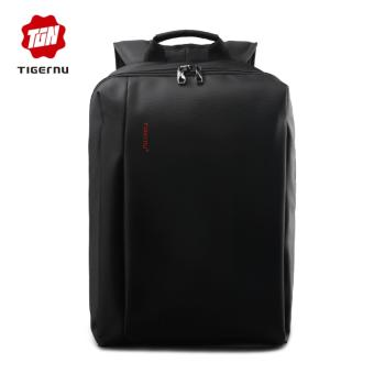 Tigernu Waterproof Unique Anti-theft Bag Business Daily 17 Inches Laptop Backpack For 12.1-17Inches Laptop3176(Black) - Intl