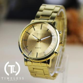 Timeless Manila Charlie Gold Metal Watch (Women) Buy 1 Take 1 - 2
