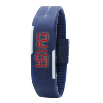 Timeless Manila Charlotte Chrono Crystal Watch (Silver) with free Slim LED (Navy Blue) - 5